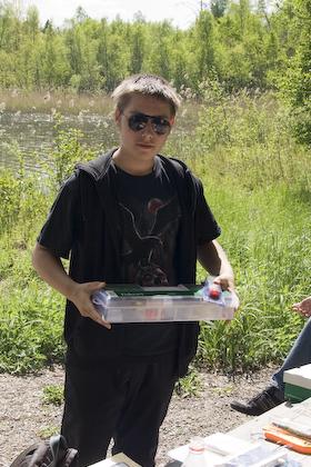 Ett fint fiskeset